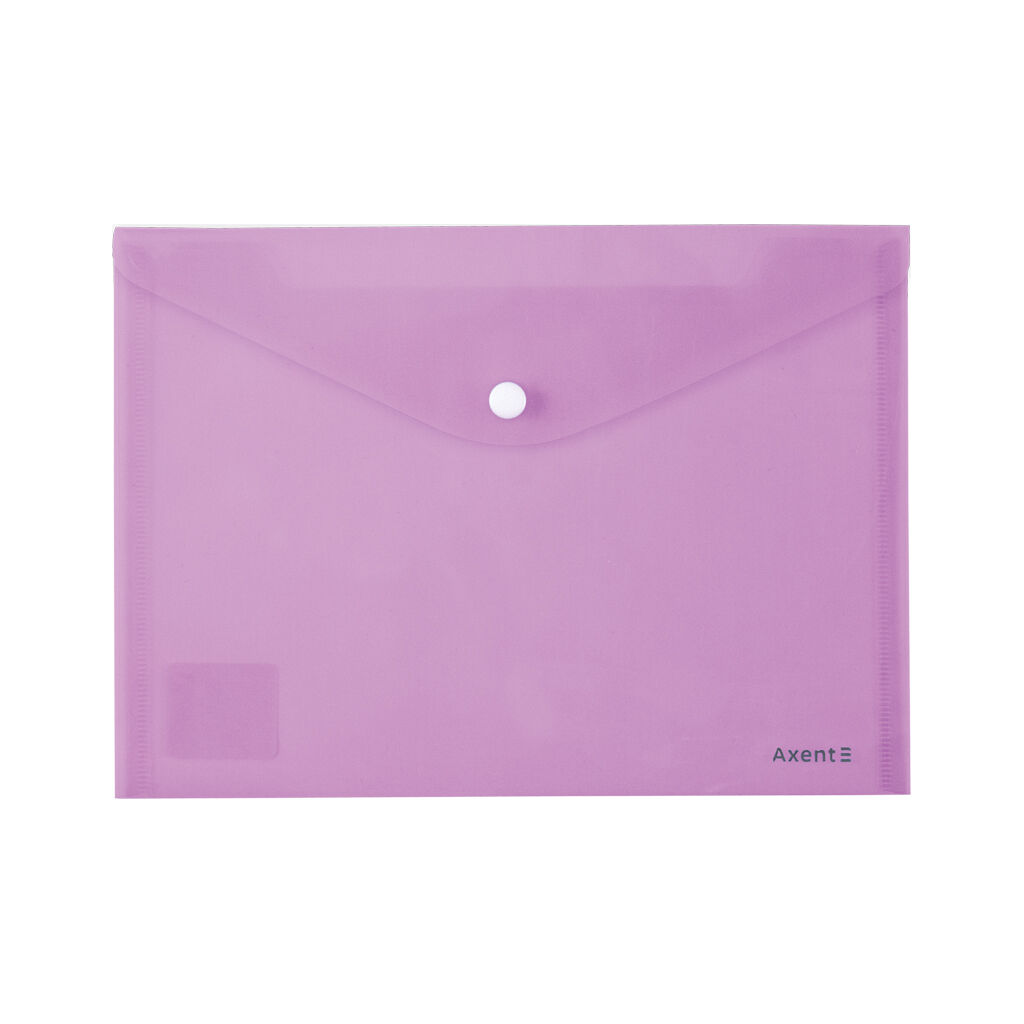 Папка - конверт Axent А5 180мкм Pastelin Сиреневая (1522-36-A)