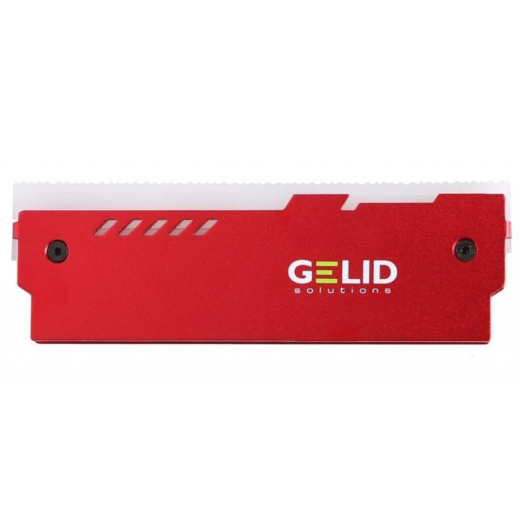 Охлаждение для памяти GELID Solutions Lumen RGB RAM Memory Cooling Red (GZ-RGB-02)