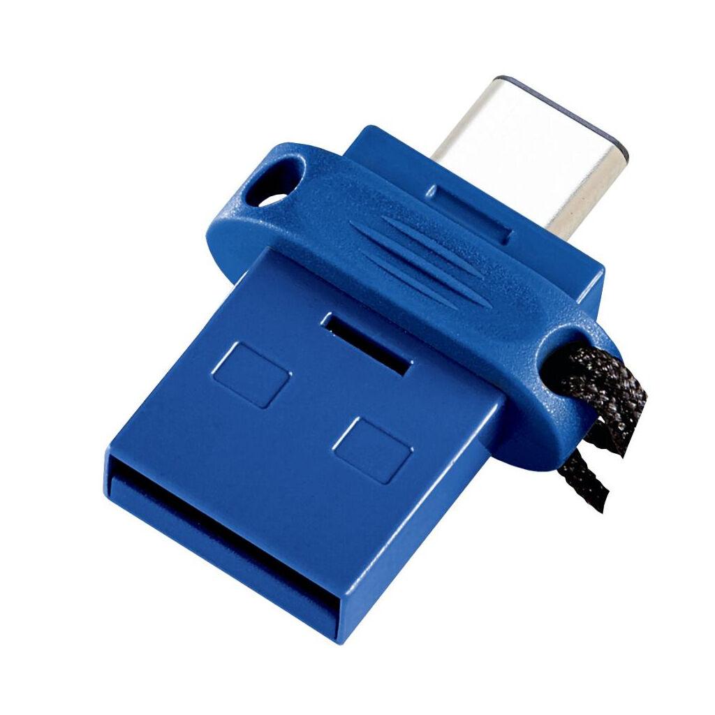 USB флеш накопитель Verbatim 32GB Dual USB Drive USB 3.0/Type-C (49966)
