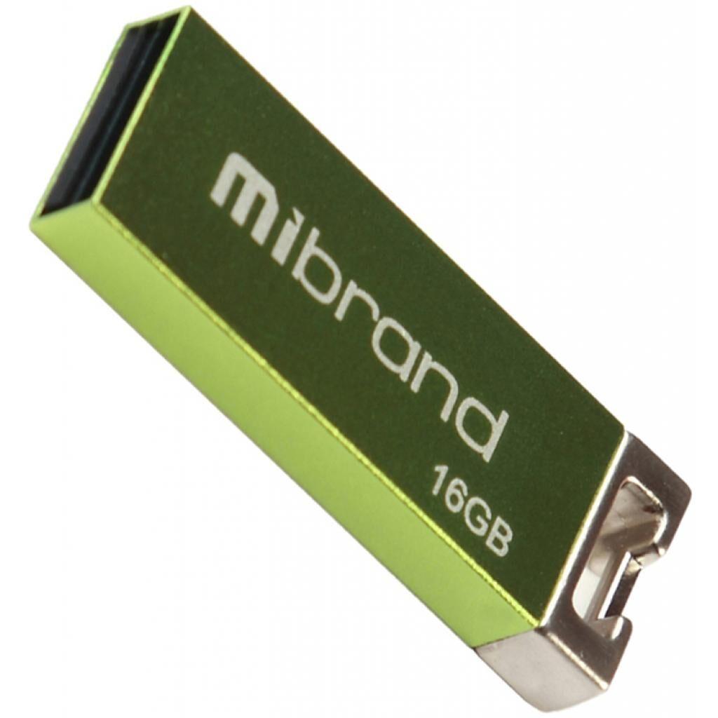 USB флеш накопитель Mibrand 16GB Сhameleon Light Green USB 2.0 (MI2.0/CH16U6LG)