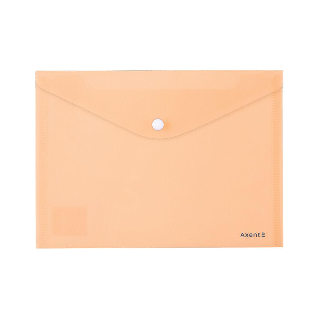 Папка - конверт Axent А5 180мкм Pastelin Персиковая (1522-42-A)
