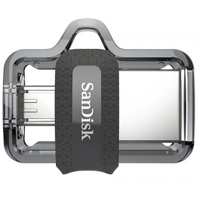USB флеш накопитель SANDISK 64GB Ultra Dual Black USB 3.0 OTG (SDDD3-064G-G46)