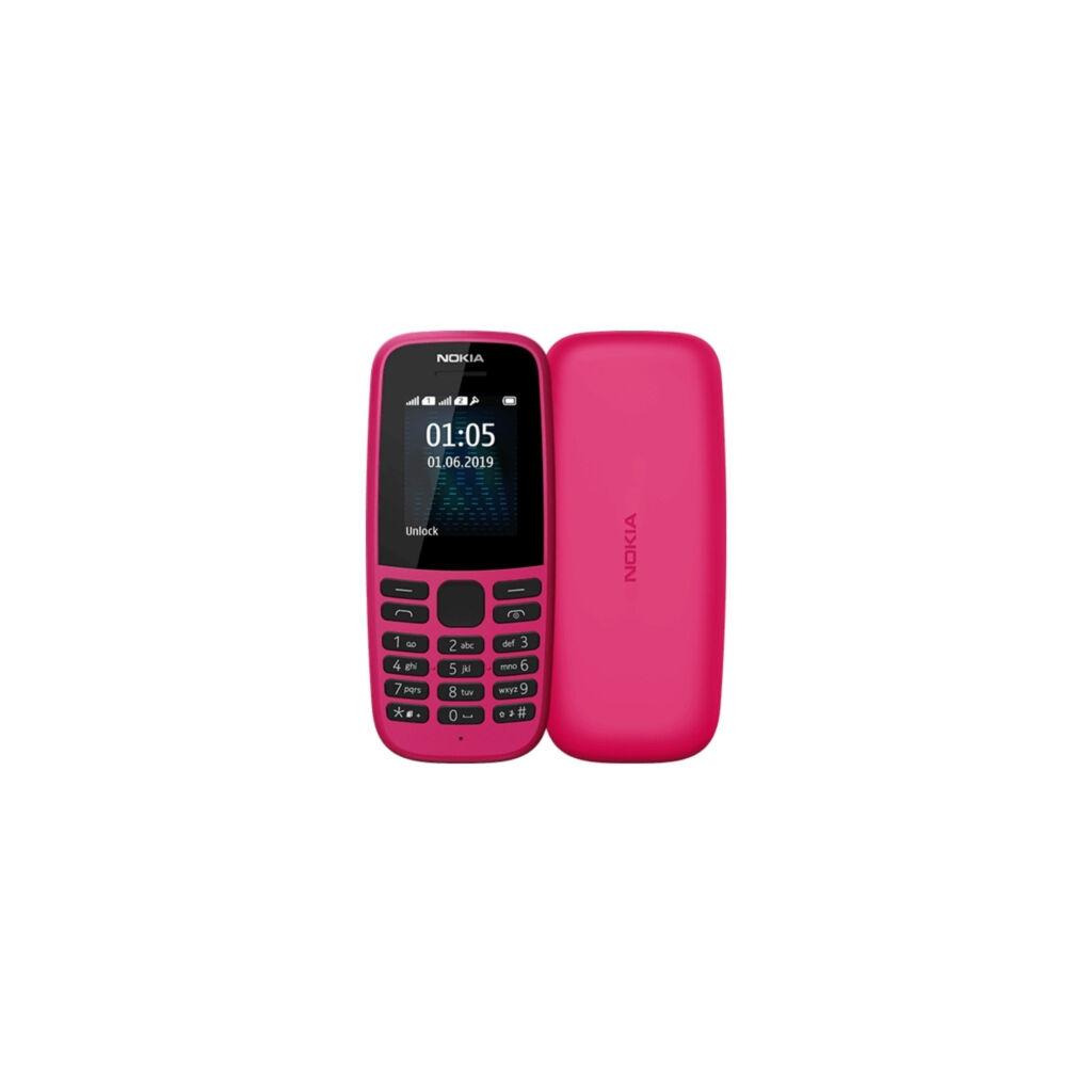 Мобильный телефон Nokia 105 SS 2019 Pink (16KIGP01A13)