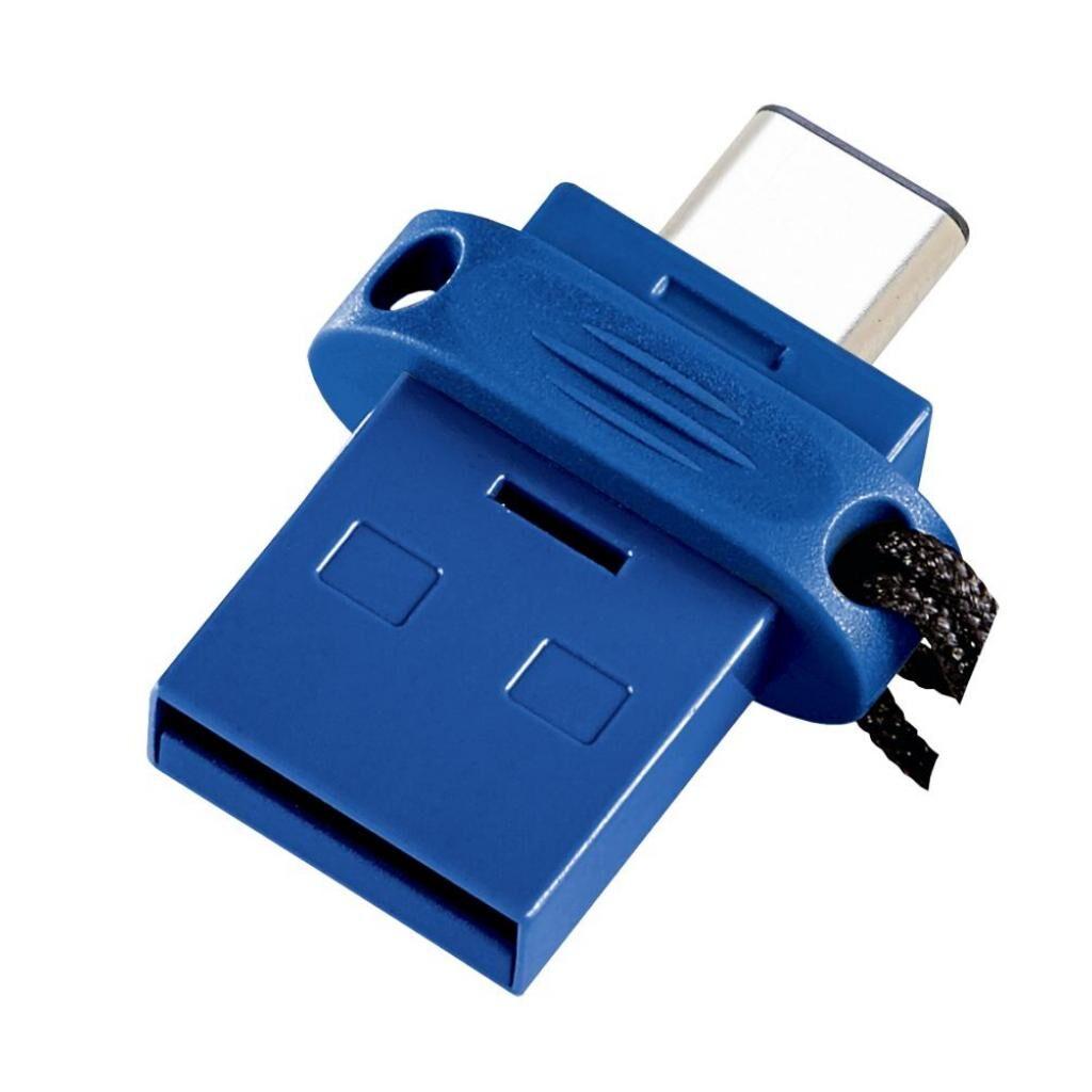 USB флеш накопитель Verbatim 64GB Dual USB Drive USB 3.0/Type-C (49967)
