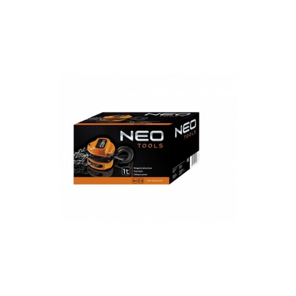Лебедка Neo Tools цепная 3 т, 3 м (11-762)