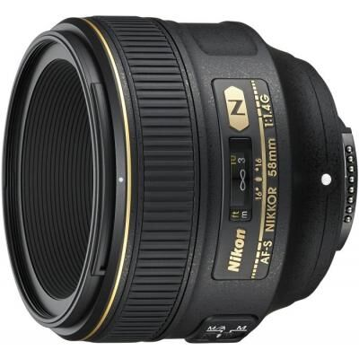 Объектив Nikon AF-S 58mm f/1.4G (JAA136DA)