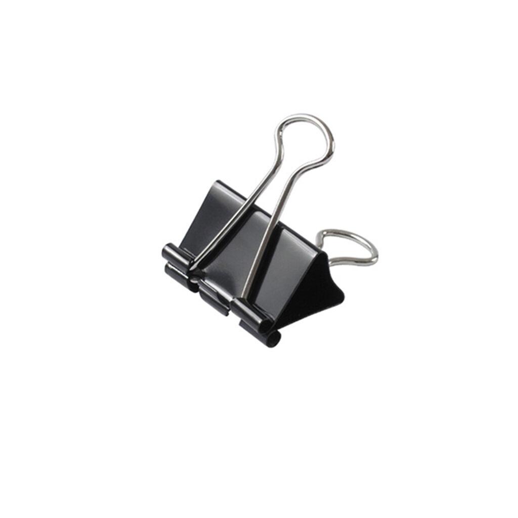 Биндер металлический Axent 41мм, 12шт, black (4404-A)