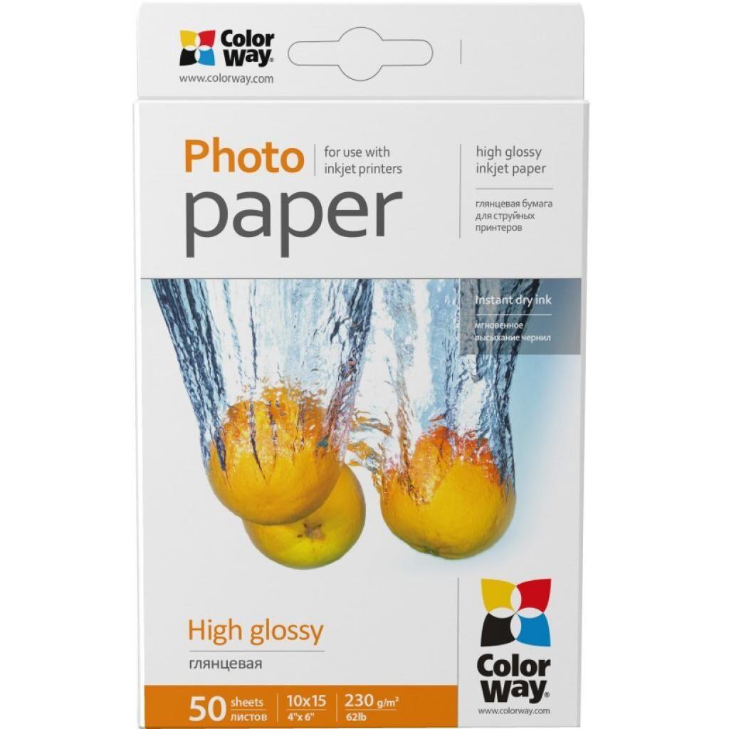 Бумага ColorWay 10x15 (PG2300504R)