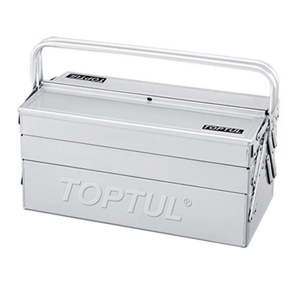 Ящик для инструментов TOPTUL металлический 5 секций 470x220x350 (TBAC0501)