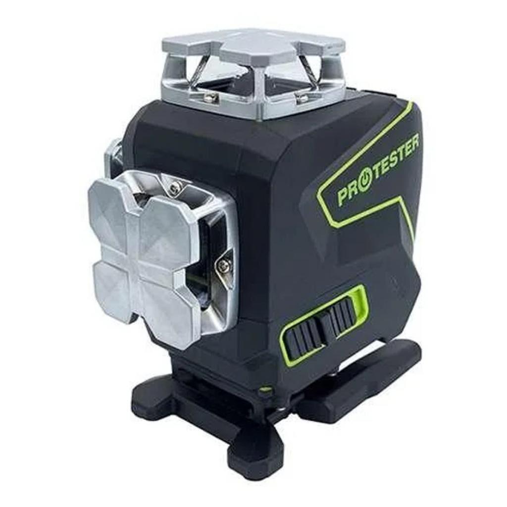 Лазерный нивелир Protester PREMIUM, 4x360°2xH360/2xV360, LCD-дисплей, Bluetooth, пульт (LL516G)