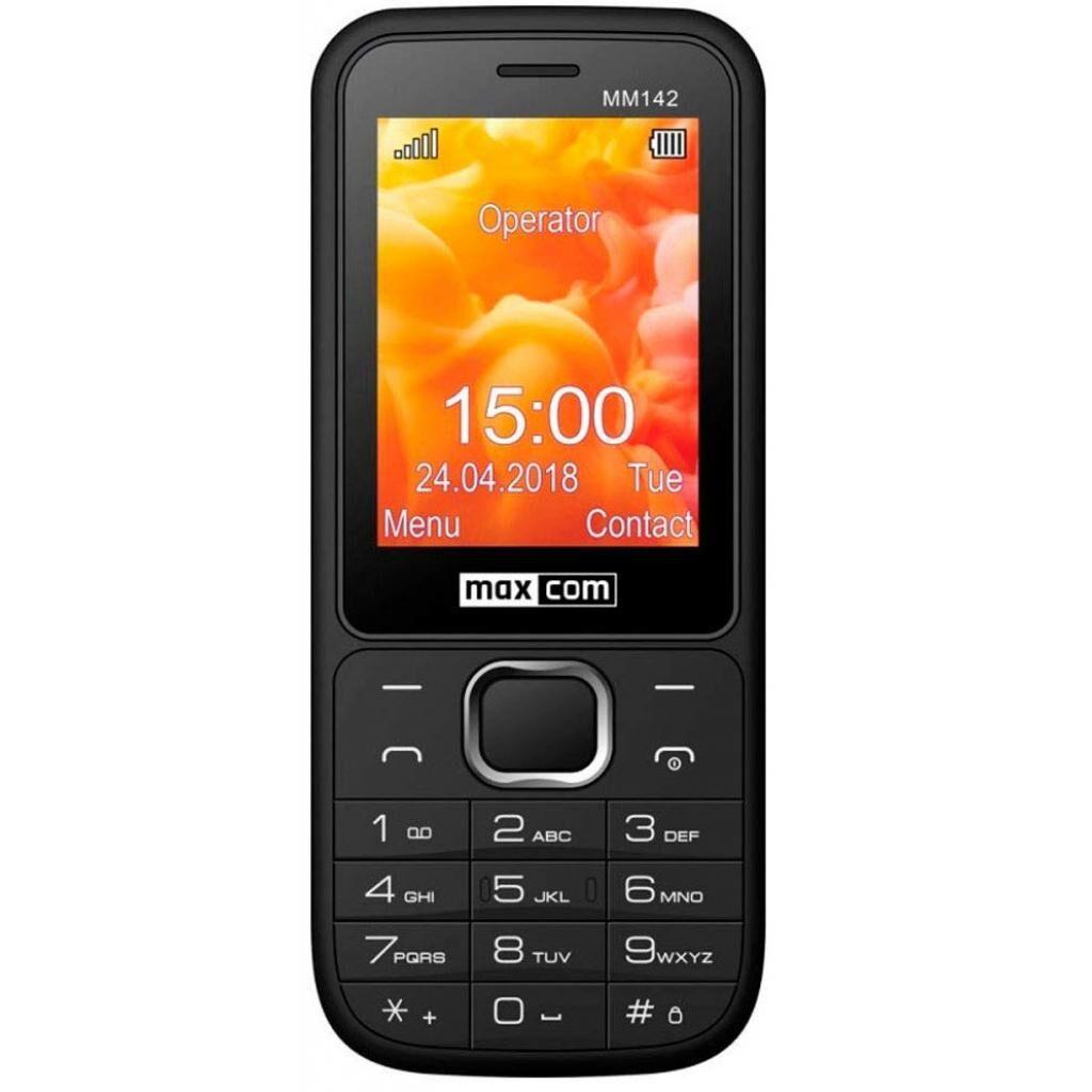 Мобильный телефон Maxcom MM142 Black