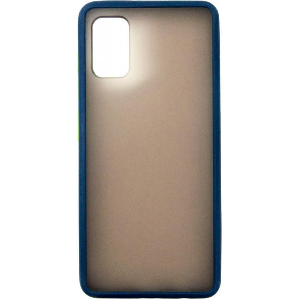 Чехол для моб. телефона DENGOS Matt Samsung Galaxy A41, blue (DG-TPU-MATT-43) (DG-TPU-MATT-43)