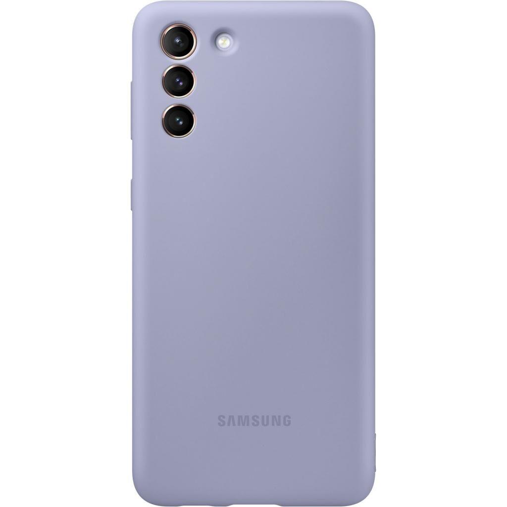 Чехол для моб. телефона Samsung Silicone Cover Samsung Galaxy S21+ Violet (EF-PG996TVEGRU)