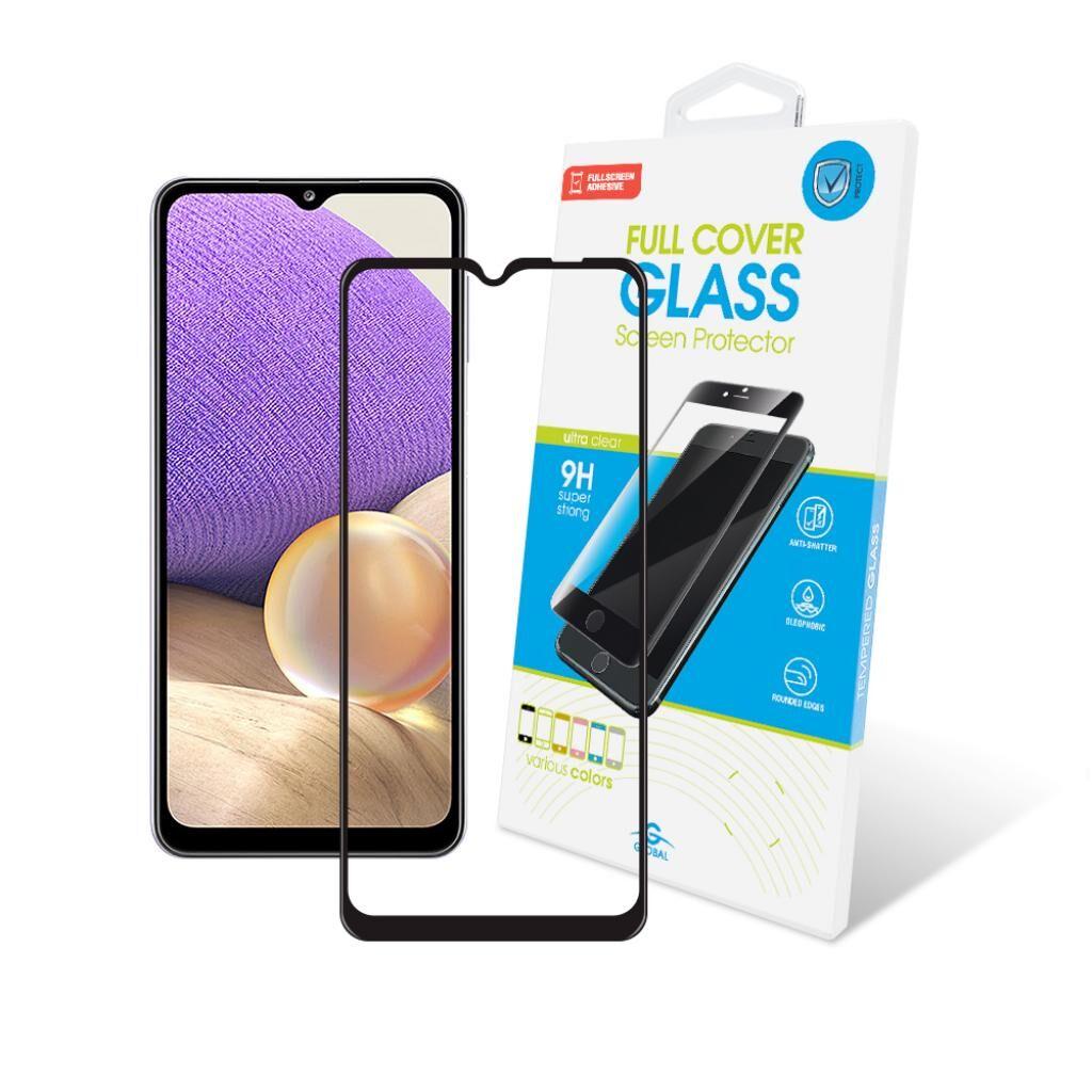 Стекло защитное GLOBAL Full Glue Samsung A32 black (1283126510144)