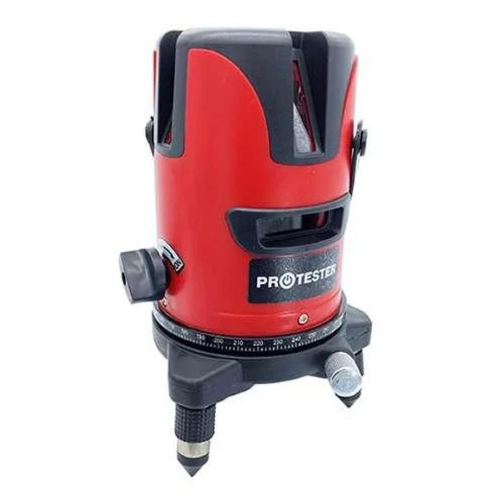 Лазерный нивелир Protester 2 линии 1H/1V красный луч (LL602R)