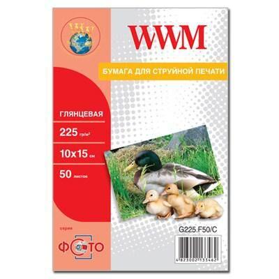 Бумага WWM 10x15 (G225.F50/C)