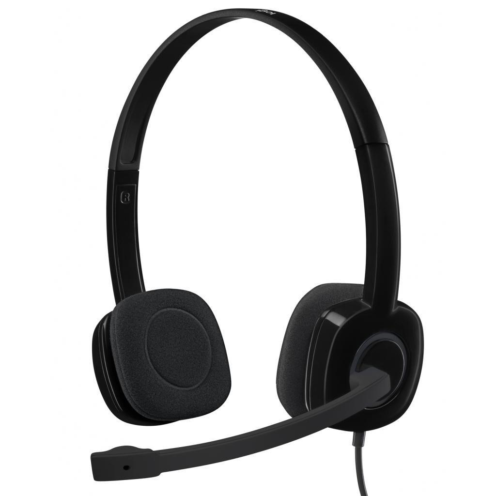 Наушники Logitech H151 Black (981-000589)