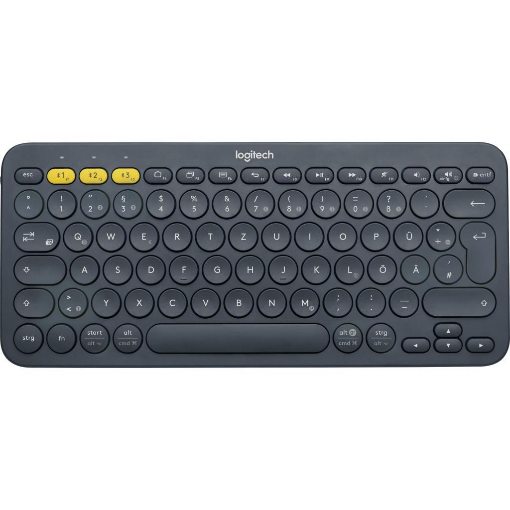 Клавиатура Logitech K380 Multi-Device Bluetooth Black (920-007584)