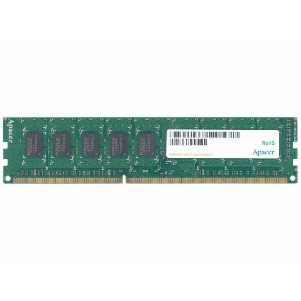 Модуль памяти для компьютера DDR3L 8GB 1600 MHz Apacer (AU08GFA60CATBGJ)