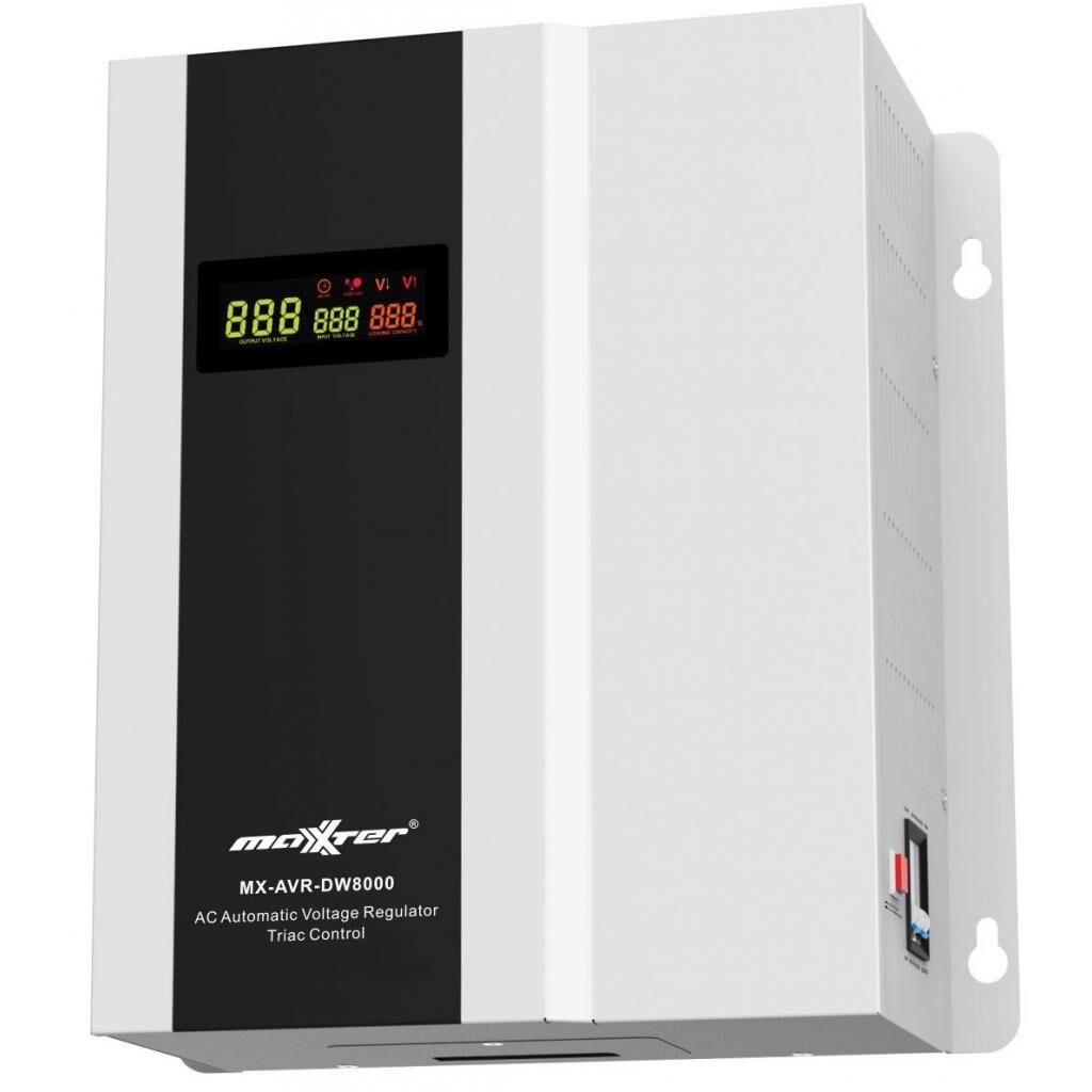 Стабилизатор Maxxter MX-AVR-DW8000-01