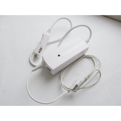 Блок питания к ноутбуку Alsoft [car 12В-24В] Apple 85W 18.5V, 4.6A, MagSafe + 2*USB (A40291)