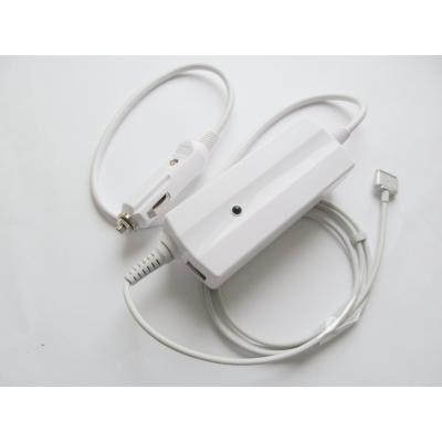 Блок питания к ноутбуку Alsoft [car 12В-24В] Apple 85W 20V, 4.25A, MagSafe2 + 2*USB (A40292)