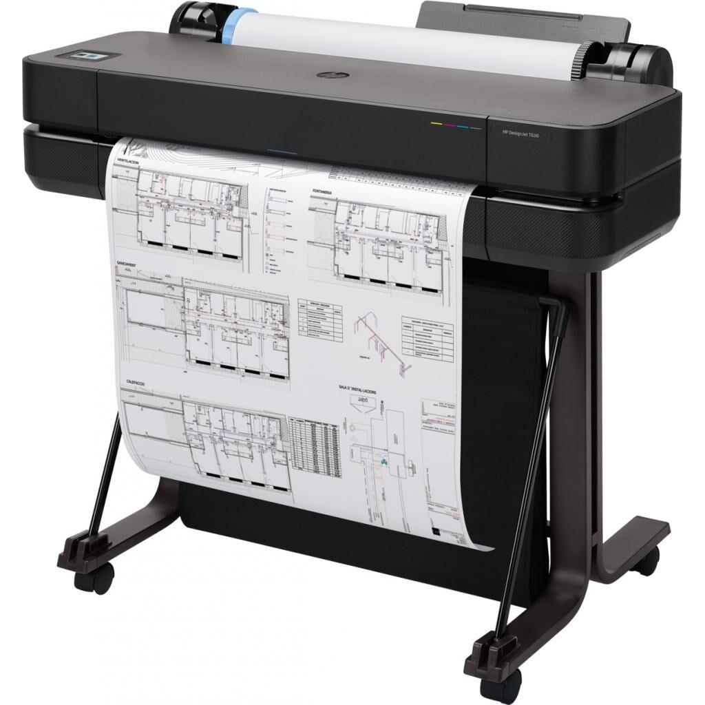 Плоттер HP DesignJet T630, 24'' c WiFi (5HB09A)