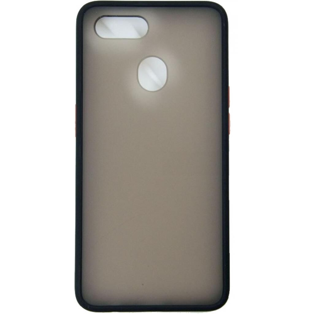 Чехол для моб. телефона DENGOS Matt OPPO A12, black (DG-TPU-MATT-60)