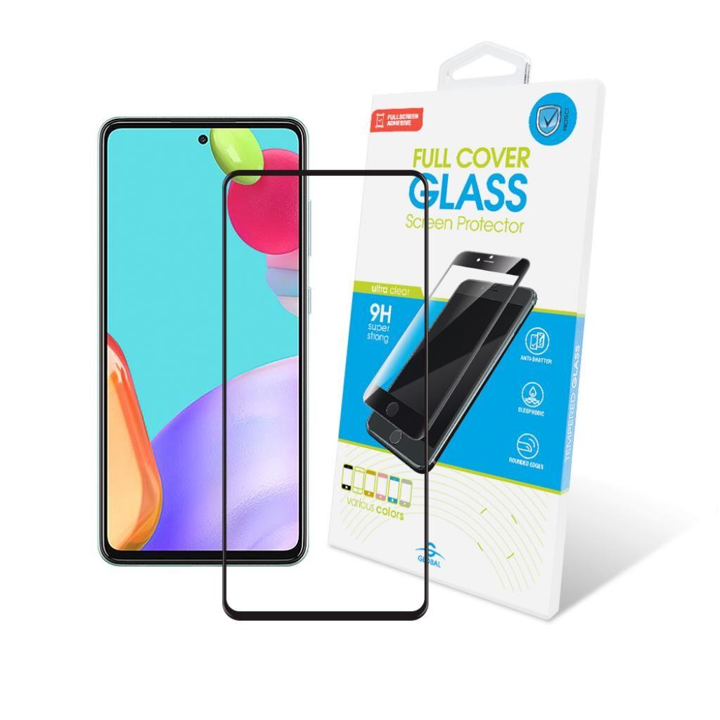 Стекло защитное GLOBAL Full Glue Samsung A52 black (1283126510151)