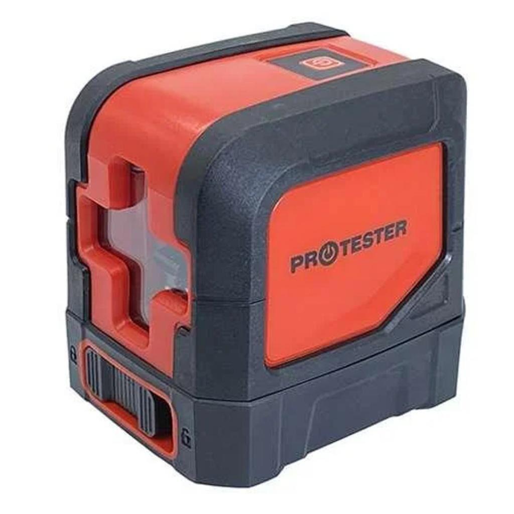 Лазерный нивелир Protester 2 линии, 1H/1V красный луч (LL102R)