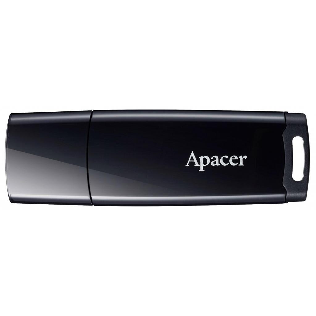 USB флеш накопитель Apacer 32GB AH336 Black USB 2.0 (AP32GAH336B-1)
