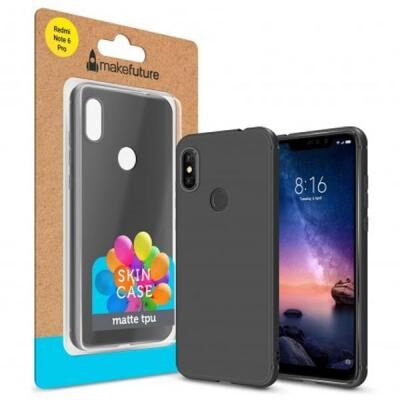 Чехол для моб. телефона MakeFuture Skin Case Xiaomi Redmi Note 6 Pro Black (MCSK-XRN6PBK)