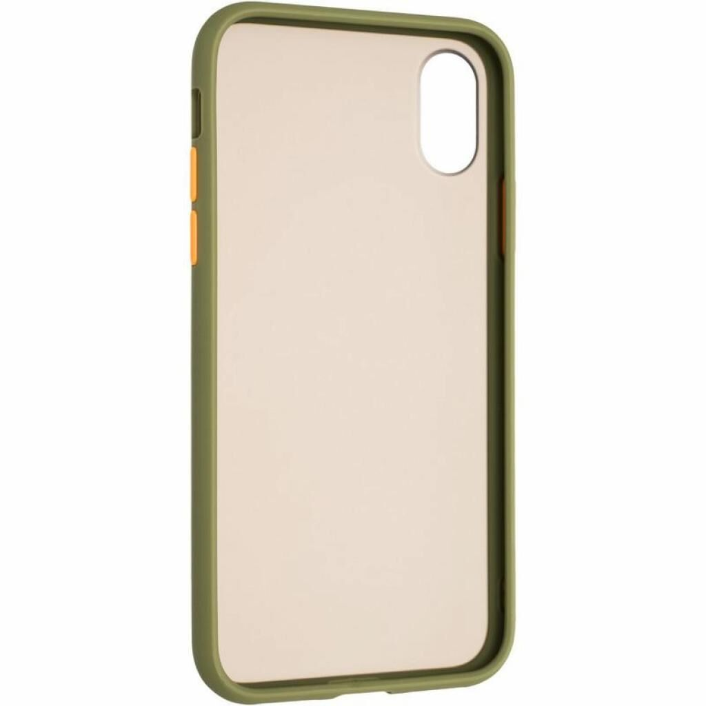 Чехол для моб. телефона Gelius Bumper Mat Case for iPhone X/XS Green (00000080165)