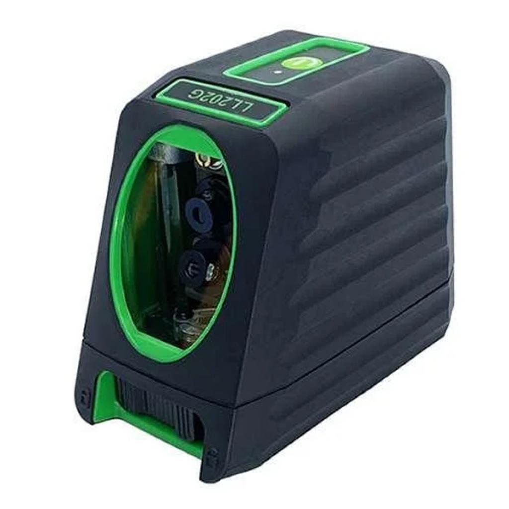 Лазерный нивелир Protester 2 линии, 1H/1V, 2 лазерных модуля зеленый луч (LL202G)