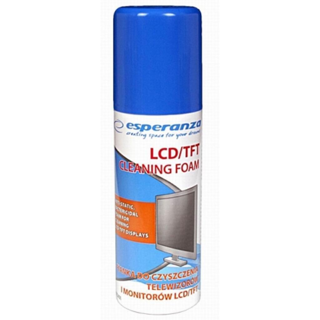Спрей для очистки Esperanza Cleaning Foam 100Ml, for Lcd/Tft (ES101)