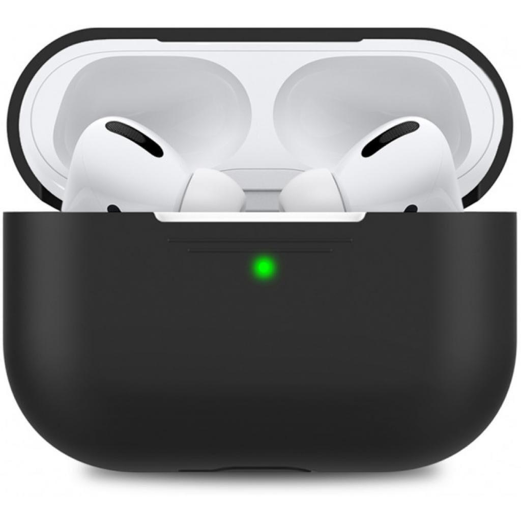 Чехол MakeFuture Apple AirPods Pro Silicone Black (MCL-AAPBK)
