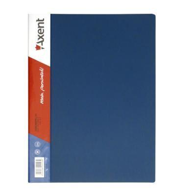Папка с зажимом Axent А4, blue (1301-02-А)