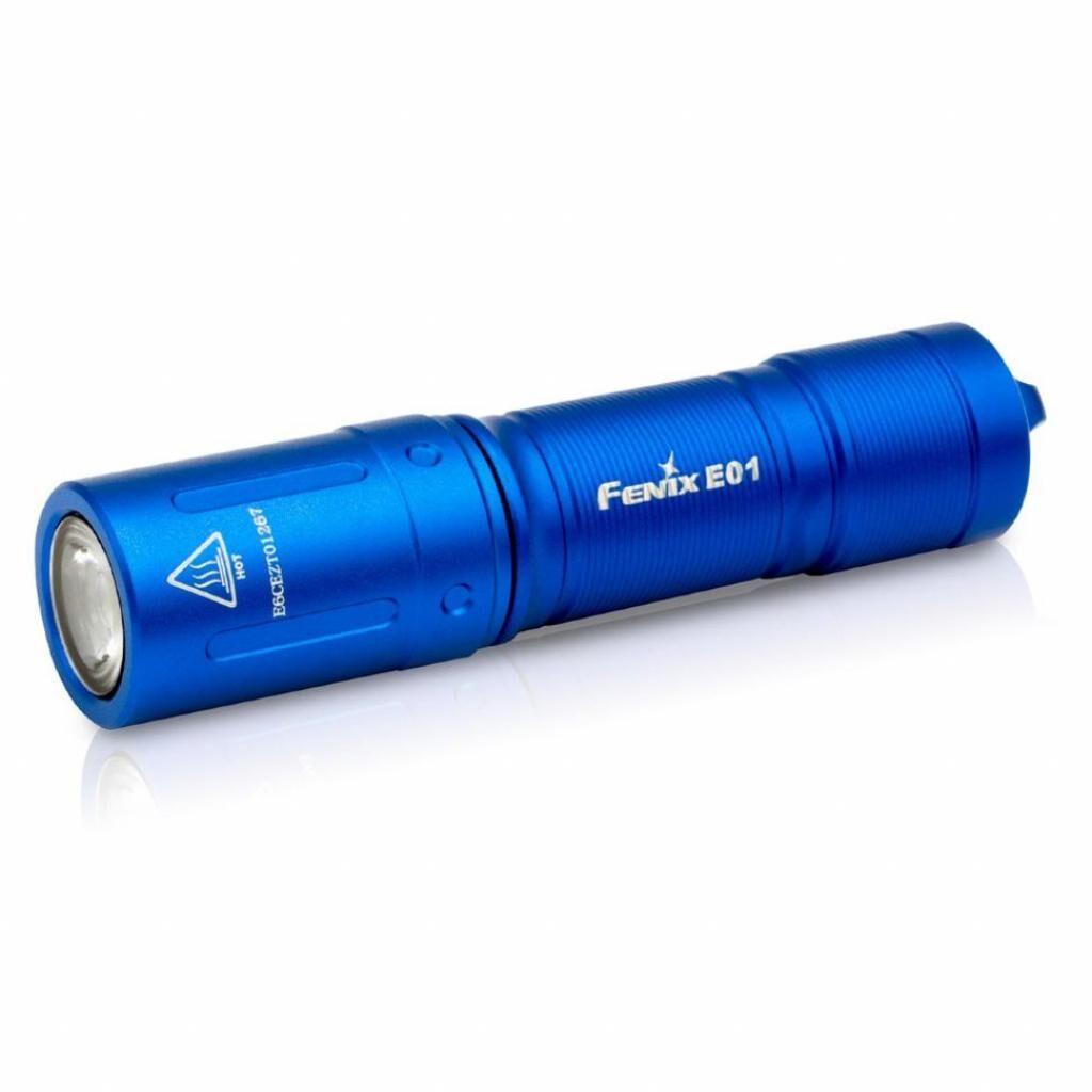 Фонарь Fenix E01 V2.0 Blue (E01V20blue)