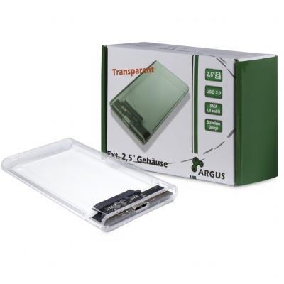 Карман внешний Argus 2.5' SATA III, max 4TB ,USB 3.0 (GD-25000)