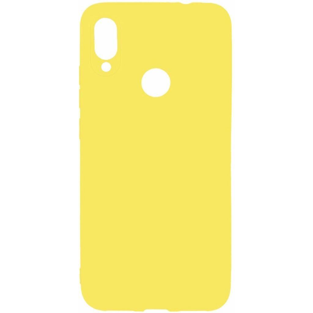 Чехол для моб. телефона Toto 1mm Matt TPU Case Xiaomi Redmi Note 7 Yellow (F_93875)