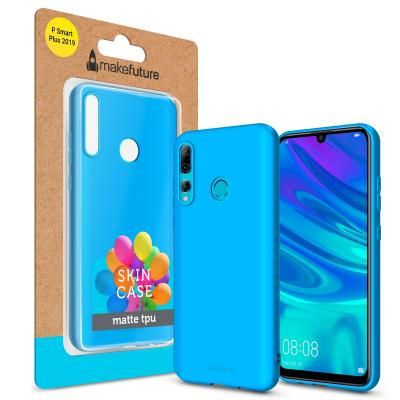 Чехол для моб. телефона MakeFuture Skin Case Huawei P Smart+ 2019 Light Blue (MCK-HUPSP19LB)
