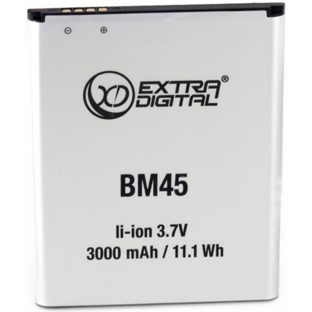Аккумуляторная батарея для телефона EXTRADIGITAL Xiaomi Redmi Note 2 (BM45) 3000 mAh (BMX6441)