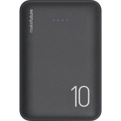 Батарея универсальная MakeFuture 10000 mAh Li-Pol Black (MPB-101BK)