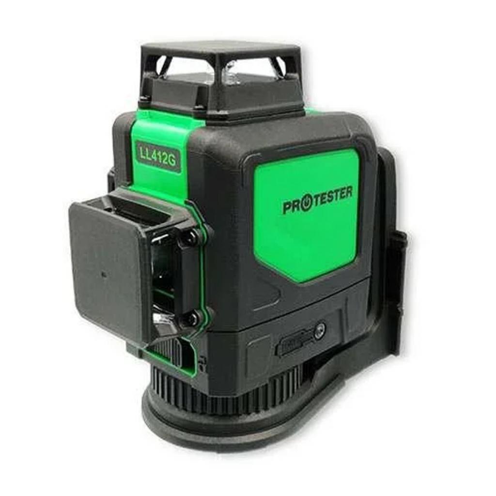 Лазерный нивелир Protester 3x360° H360/2xV360, зеленый луч (LL412G)
