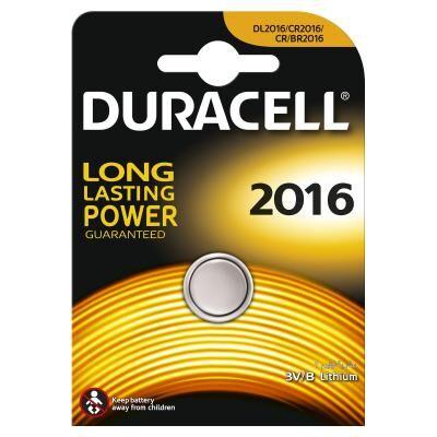 Батарейка Duracell CR 2016 / DL 2016 * 1 (81575093 / 81269133)