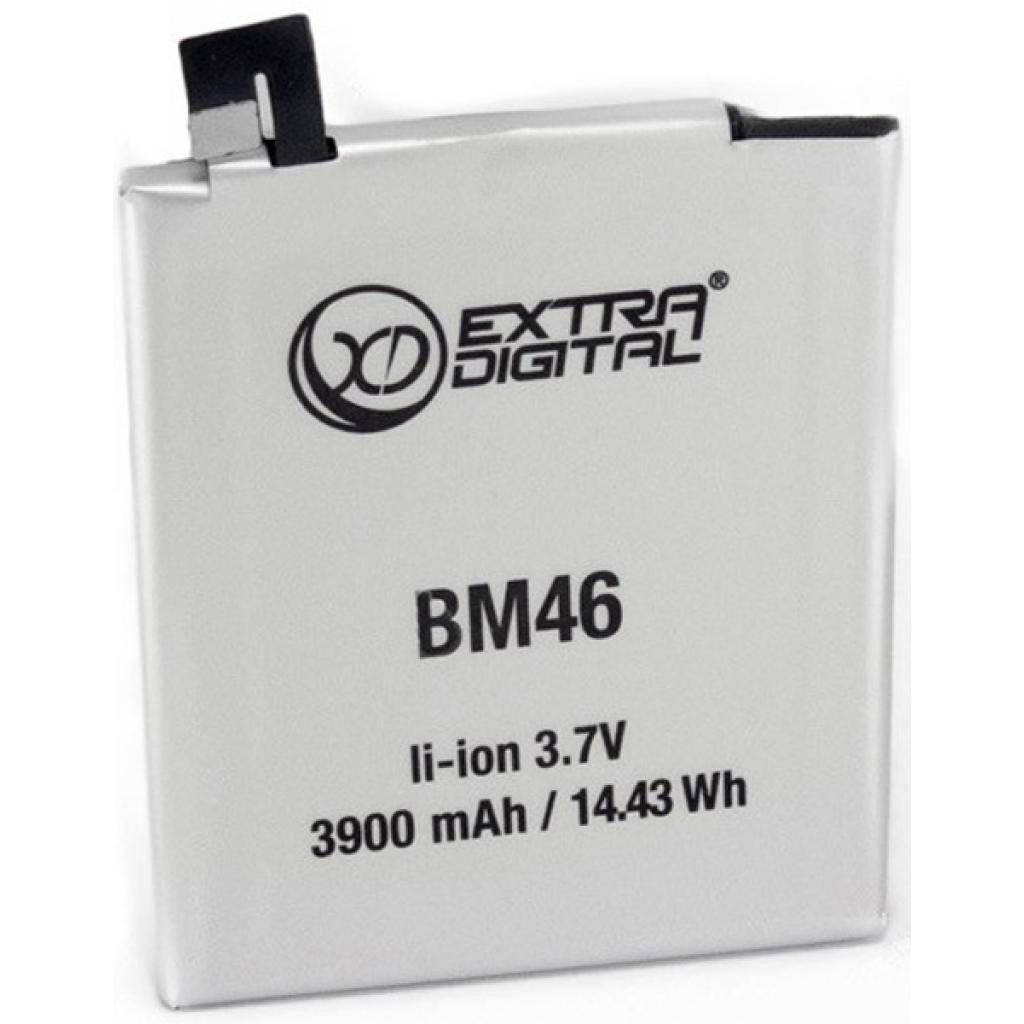 Аккумуляторная батарея для телефона EXTRADIGITAL Xiaomi Redmi Note 3 (BM46) 3900 mAh (BMX6448)