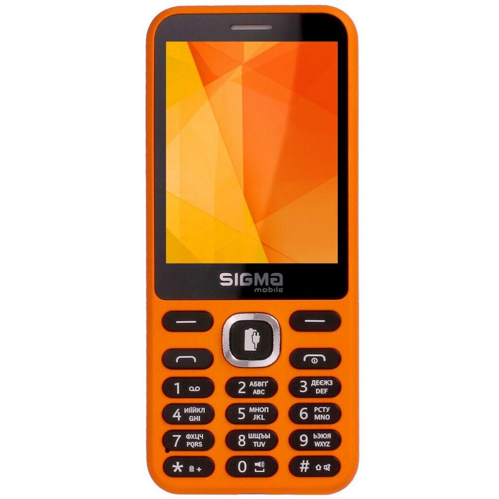 Мобильный телефон Sigma X-style 31 Power Orange (4827798854778)