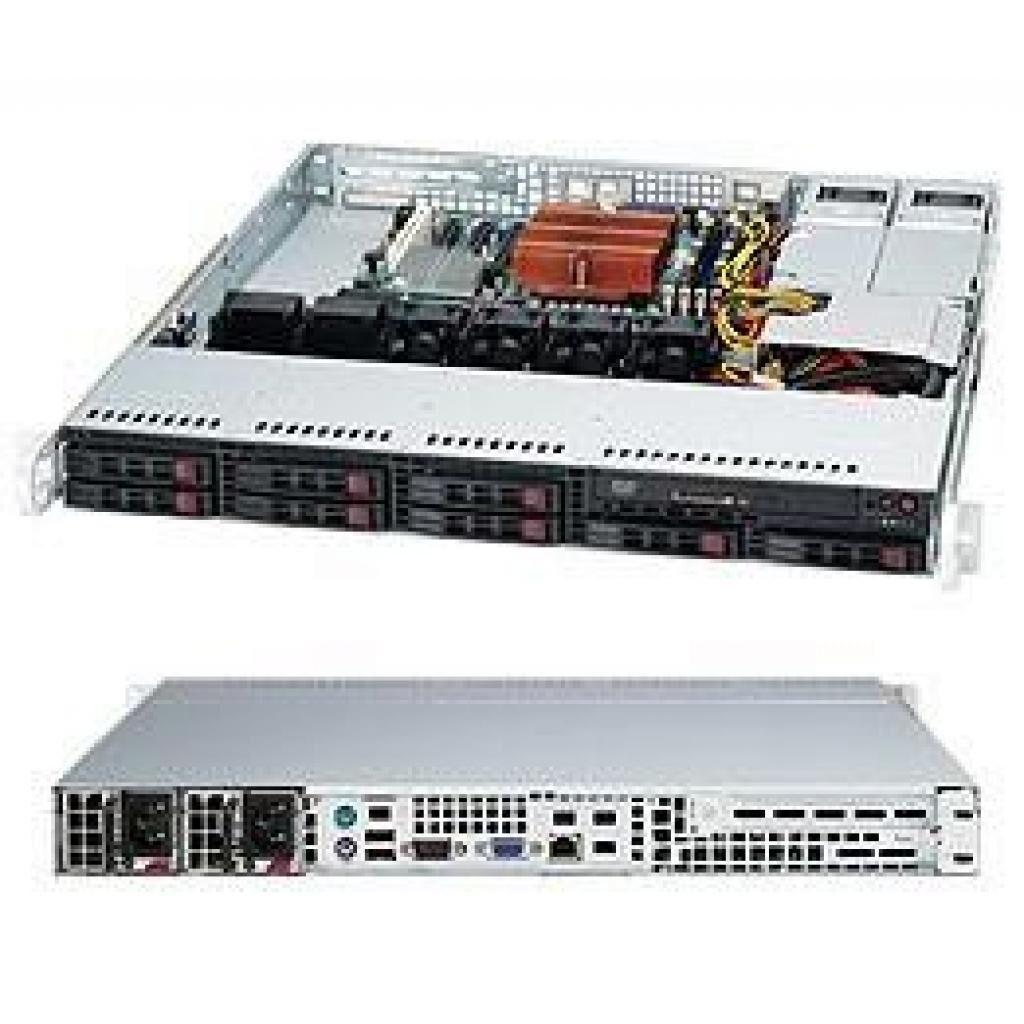 Корпус для сервера 1U 400W BLACK/CSE-113MTQ-R400CB Supermicro (CSE-113MTQ-R400CB)