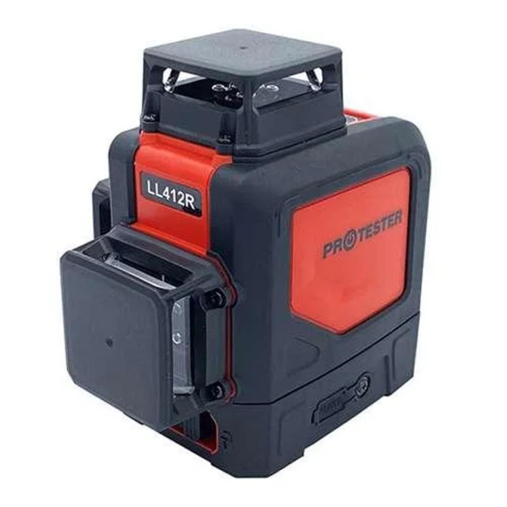 Лазерный нивелир Protester 3x360° H360/2xV360, красный луч (LL412R)