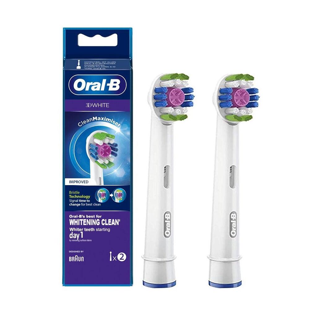 Насадка для зубной щетки Oral-B 3D White EB18RB CleanMaximiser (2)